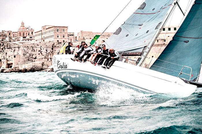 We support Giulia Sailing Team